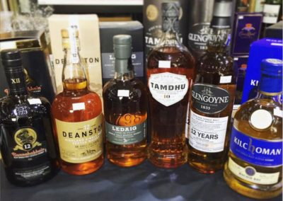 Copy of more various whiskies